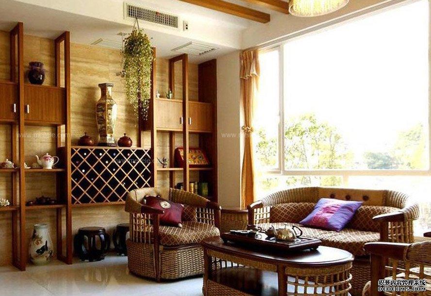 客厅2欧式咖啡色客厅沙发装修效果图