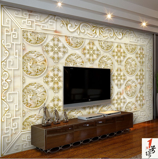 水刀欧式背景墙  或欧式电视背景墙  复合微晶玻璃背景墙